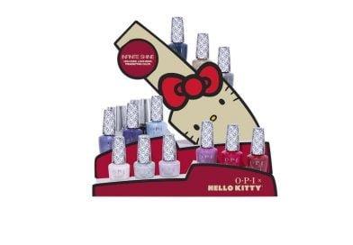 La collezione Hello Kitty di OPI per il Natale 2019