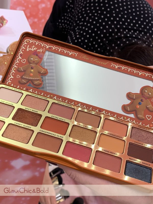 Palette Ginverbread Extra Spicy Too Faced