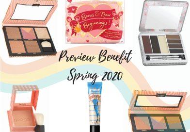 Benefit primavera 2020: la collezione trucco