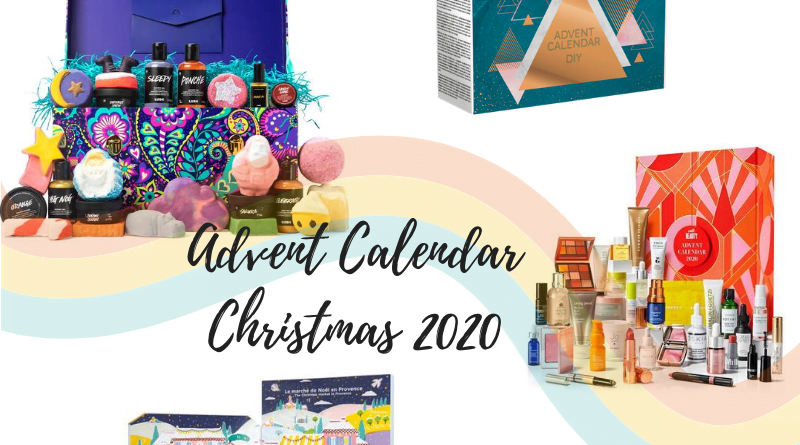 Advent calendar for Christmas 2020