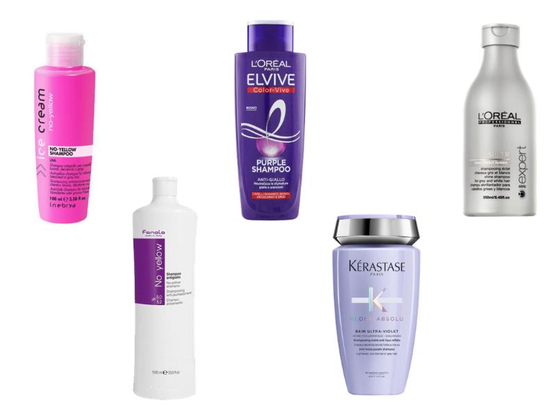shampoo antigiallo il migliore