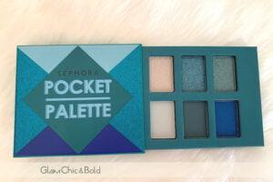 Pocket Palette Sephora blue tones