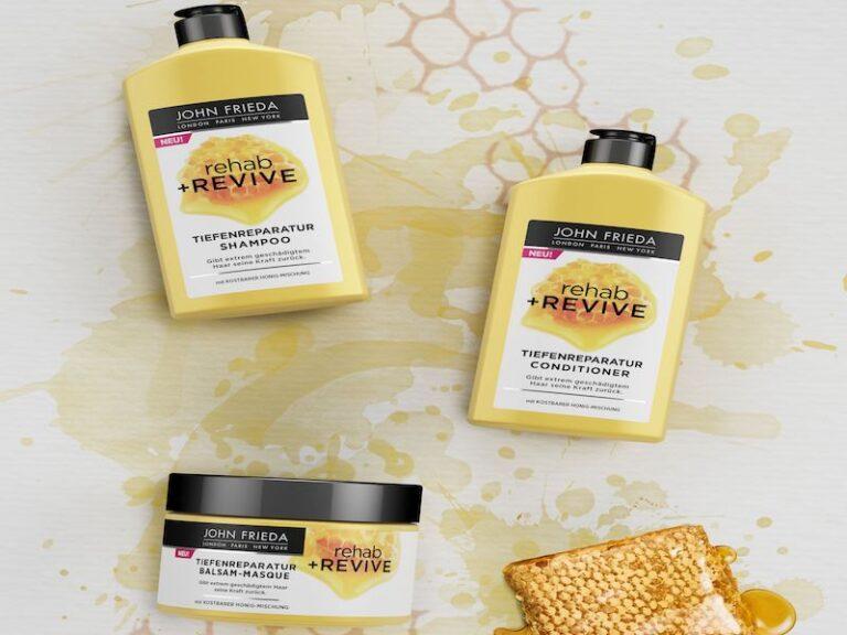 Shampoo John Frieda rehab+REVIVE