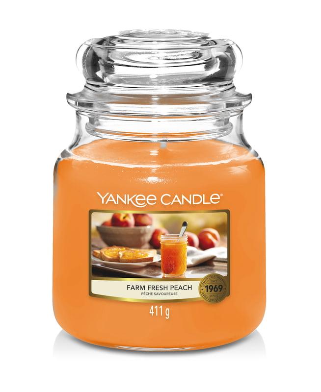 Farm Fresh Peach Yankee Candle