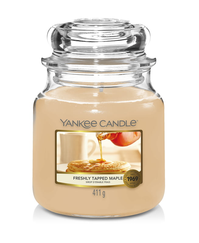 Freshly Tapped Maple Yankee Candle